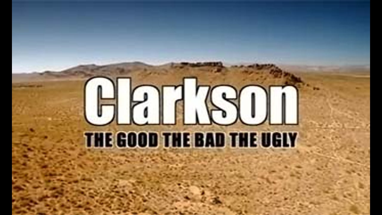 Jeremy Clarkson: The Good, The Bad, The Ugly - Promo