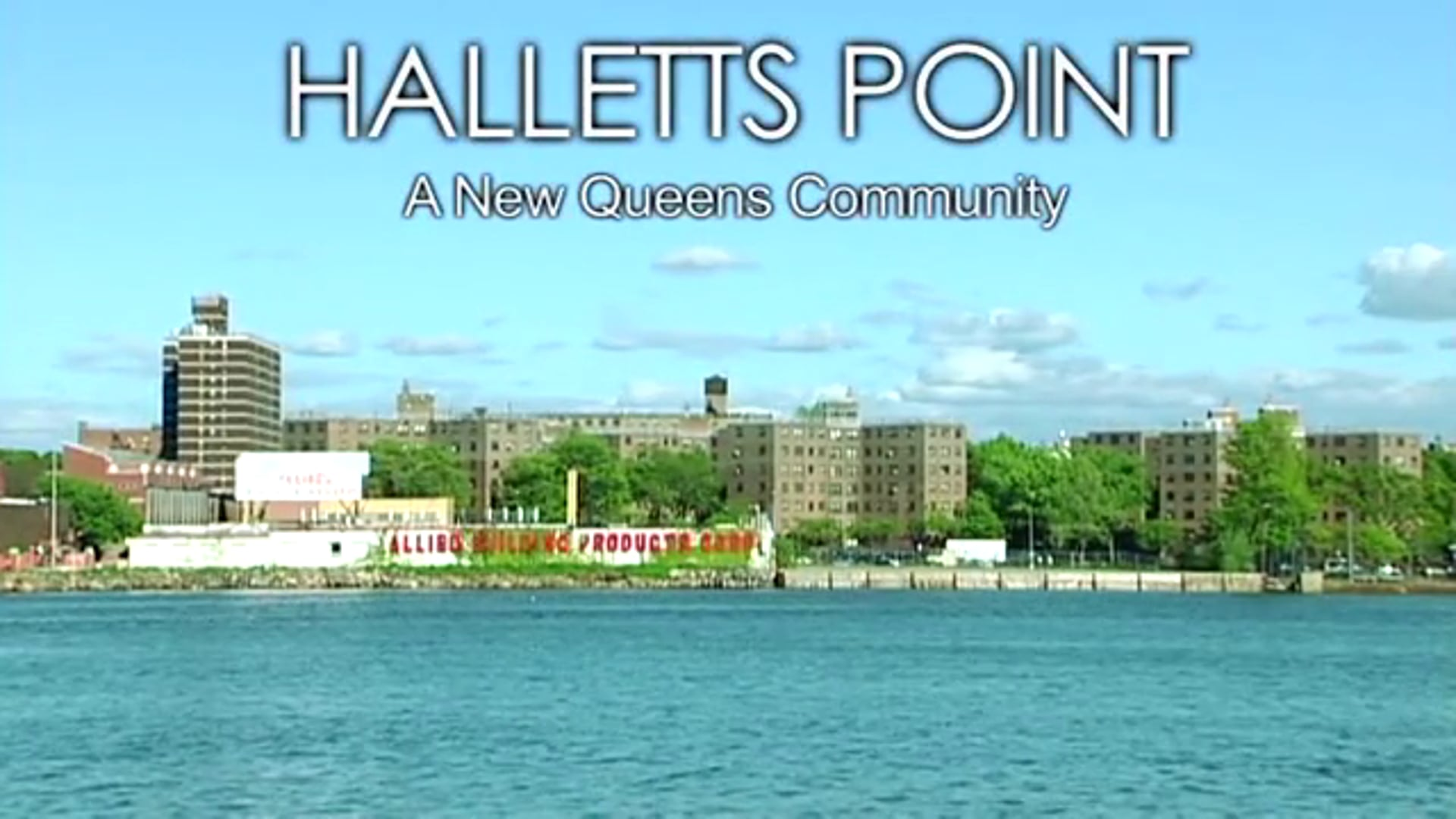 Halletts Point - A New Queens Community