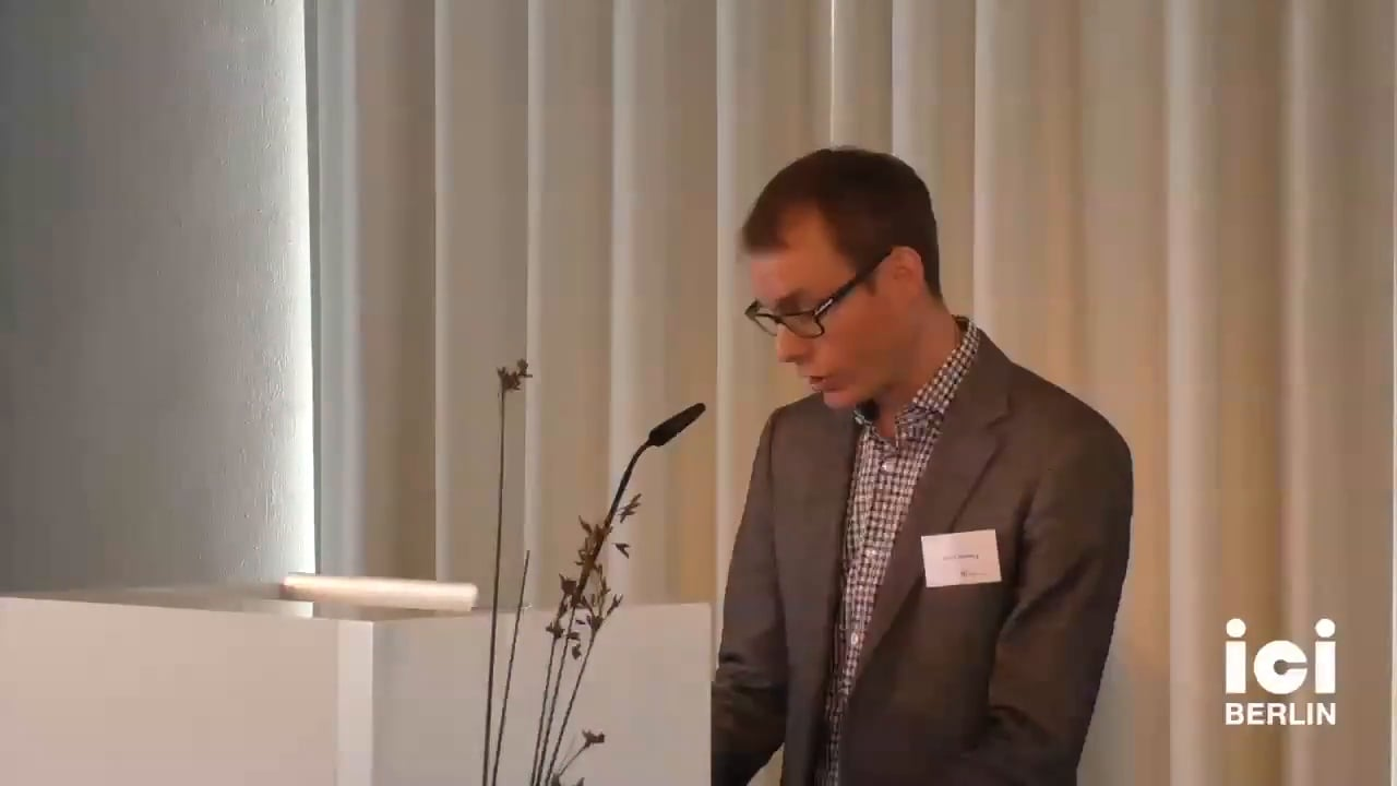 Welcome and Introduction by Jakob Norberg [Part 1, 1]