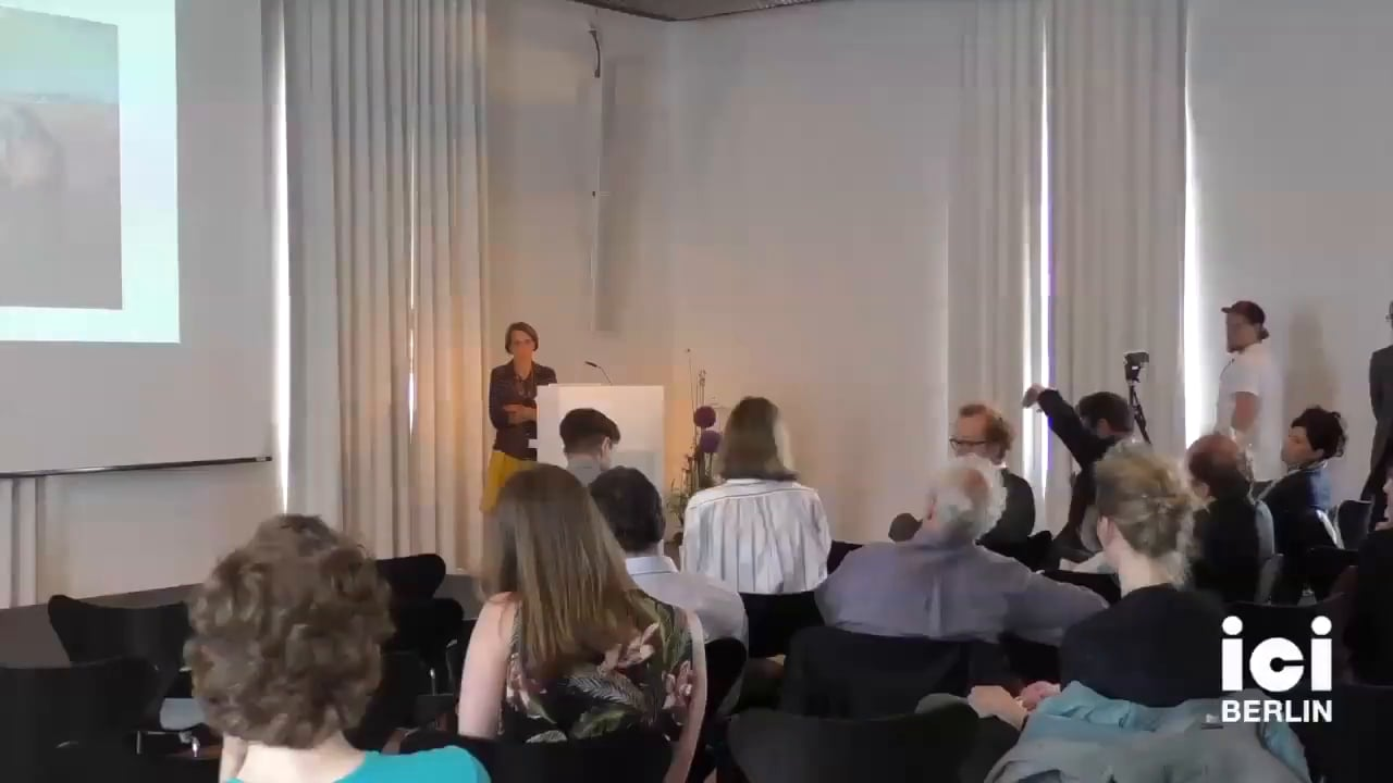 Discussion with Judith Kasper [Part 1, 3]