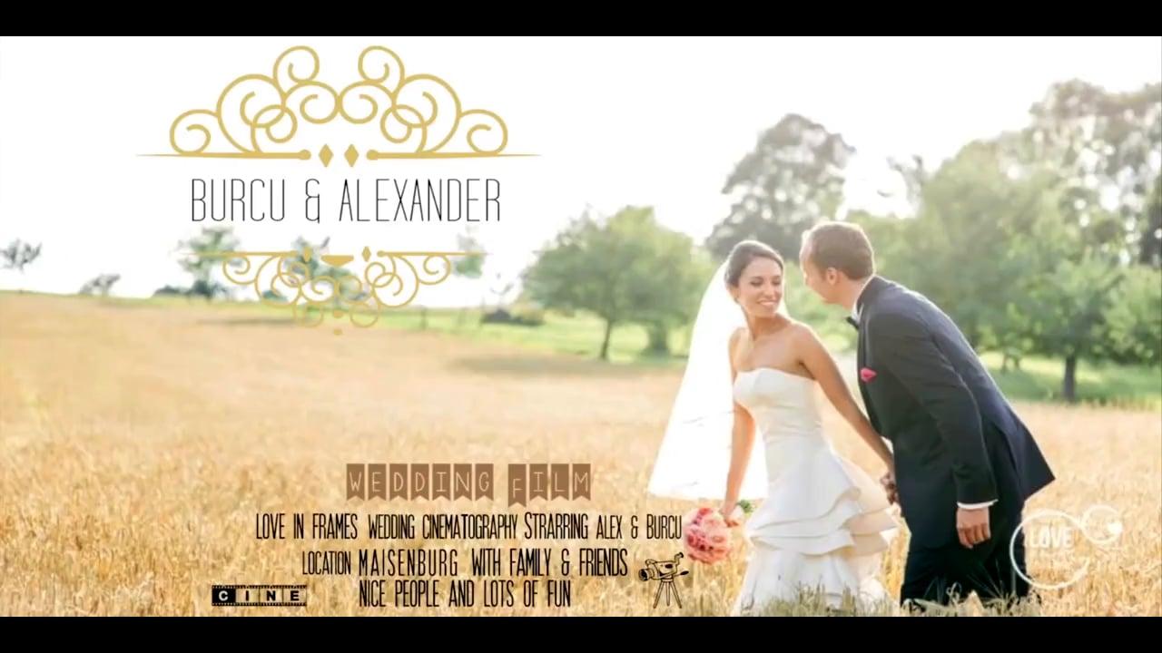 BURCU & ALEX WEDDING TRAILER