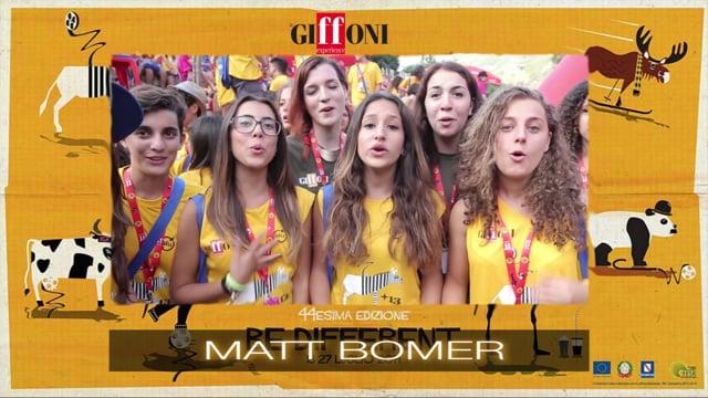 WELCOME MATT BOMER