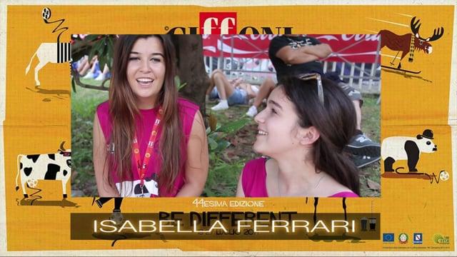 WELCOME ISABELLA FERRARI