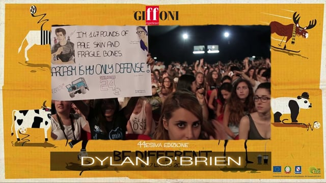 WELCOME DYLAN O'BRIEN