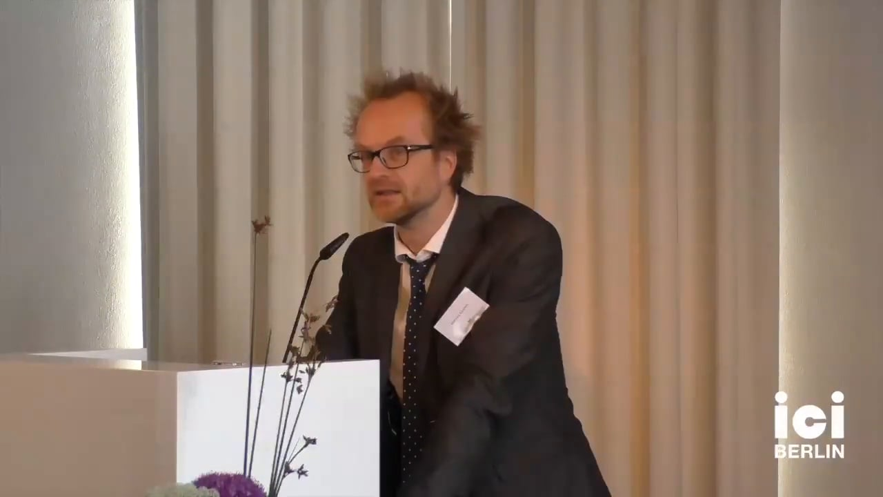 Introduction of Christopher Fynsk by Marcus Coelen [Part 2, 1]