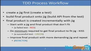 Getting Started with Test Driven Development