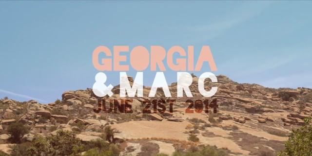 Georgia & Marc