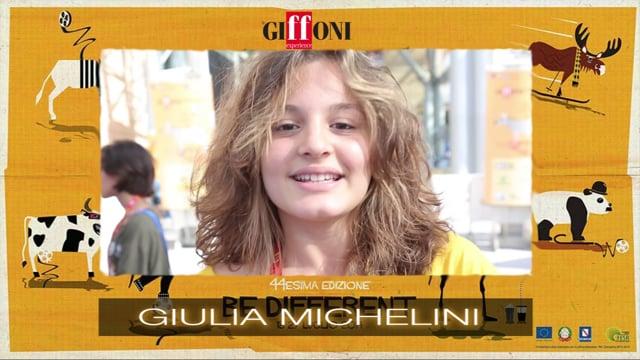 WELCOME GIULIA MICHELINI