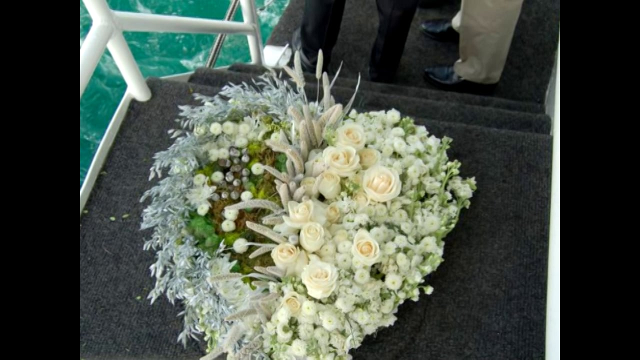 FantaSea Yachts - Burial at Sea Slideshow aboard Dandeana