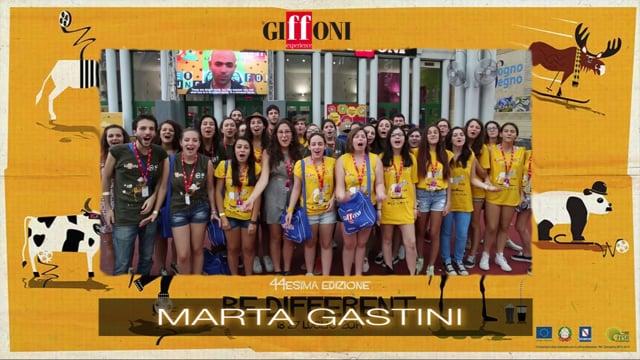 Welcome marta gastini