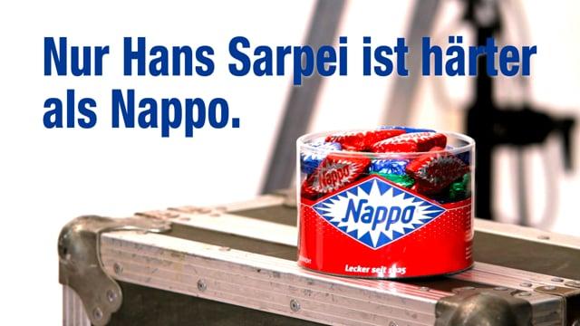 "NAPPO: ""Hans Sarpei Härtetest"""