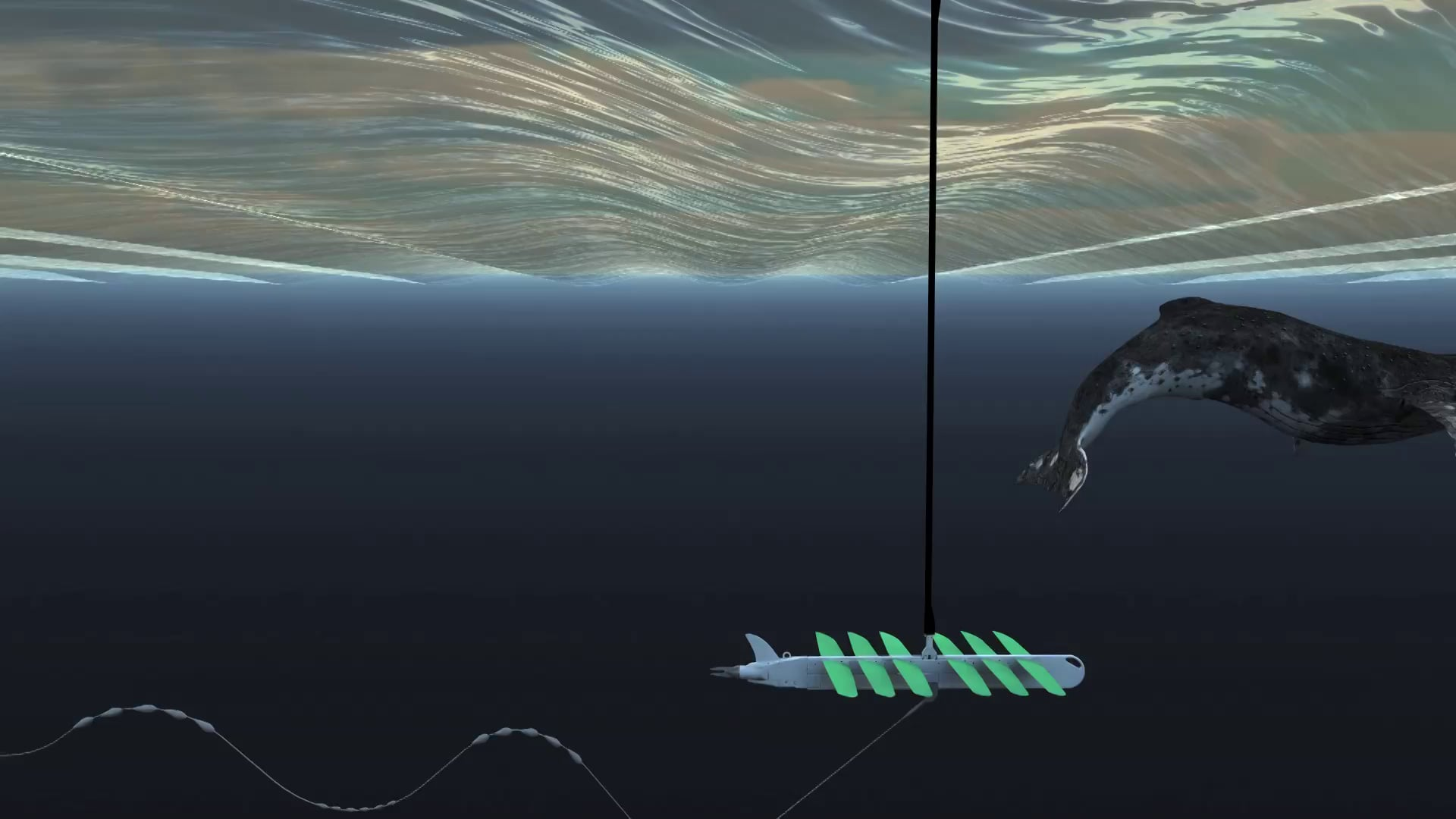 How does a wave glider work?