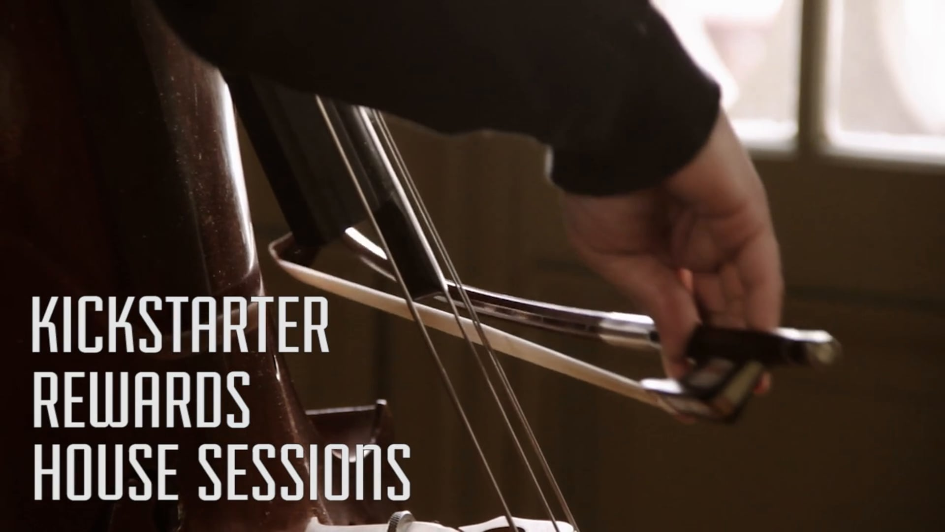Joe Troop & Diego Sánchez - Kickstarter Rewards House Sessions