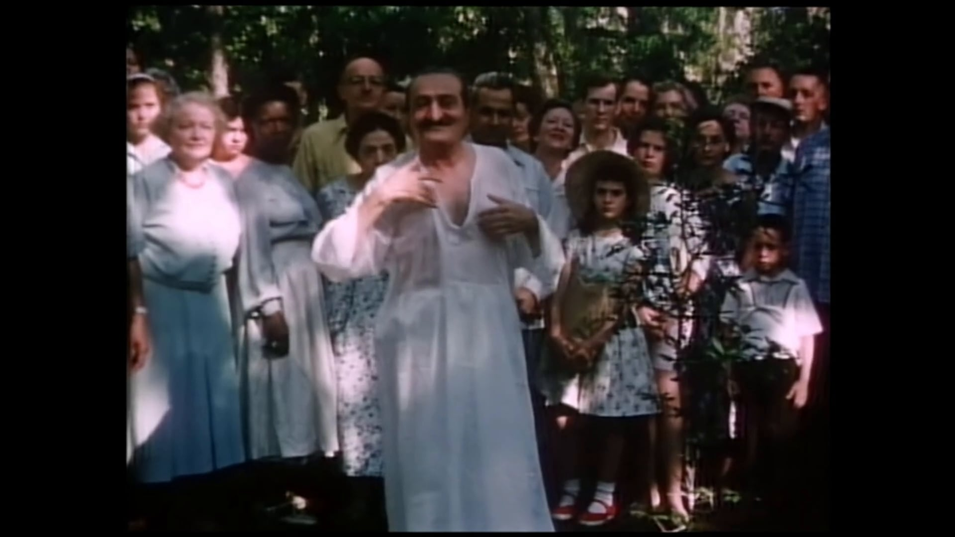 Scenes from Meher Baba's Tour of the United States, 1956