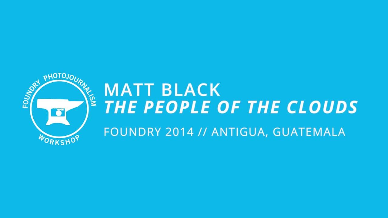 Matt Black - Evening Presentation, Foundry Photojournalism Workshop 2014