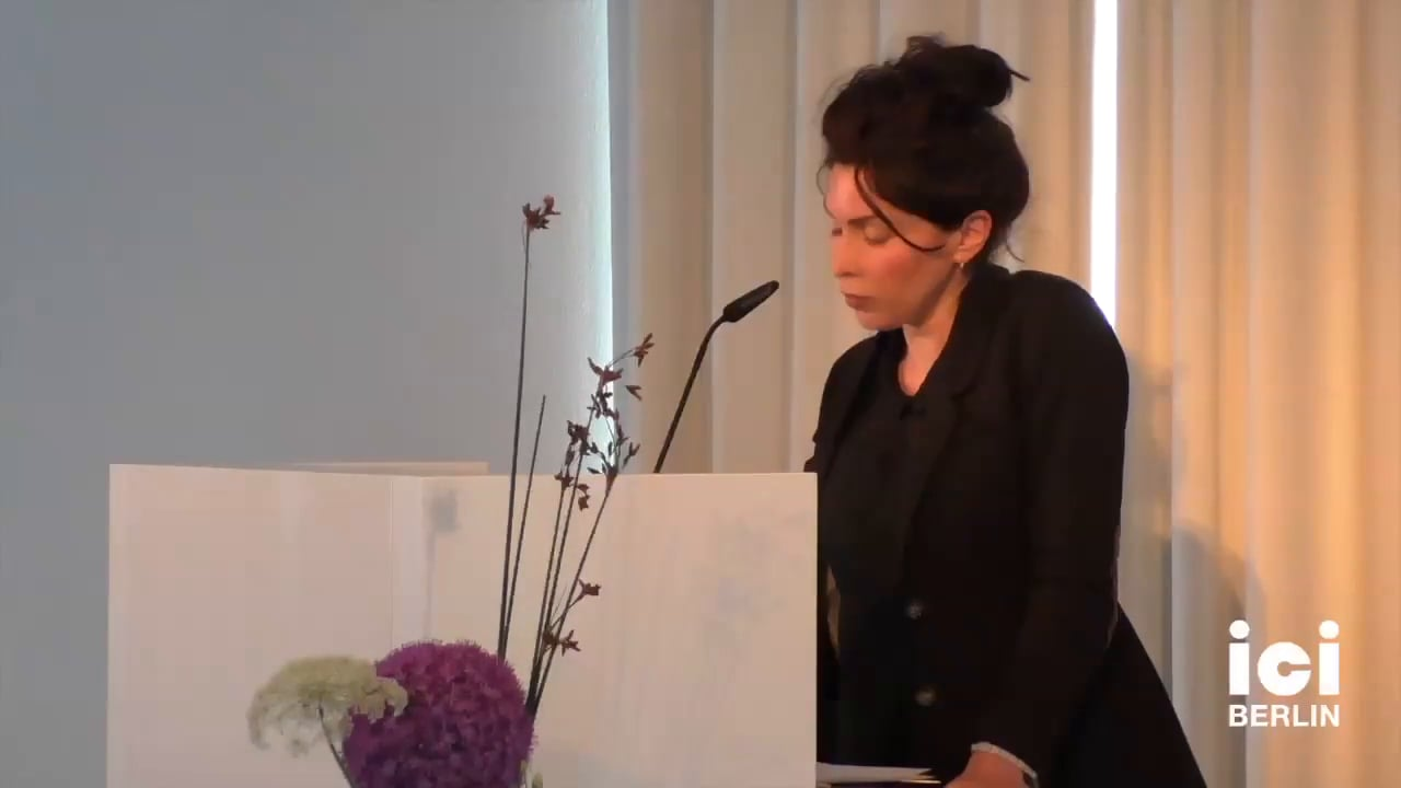Talk by Marie Gil [Part 4, 5]