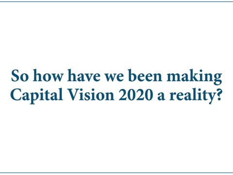 Capital Vision, the first year