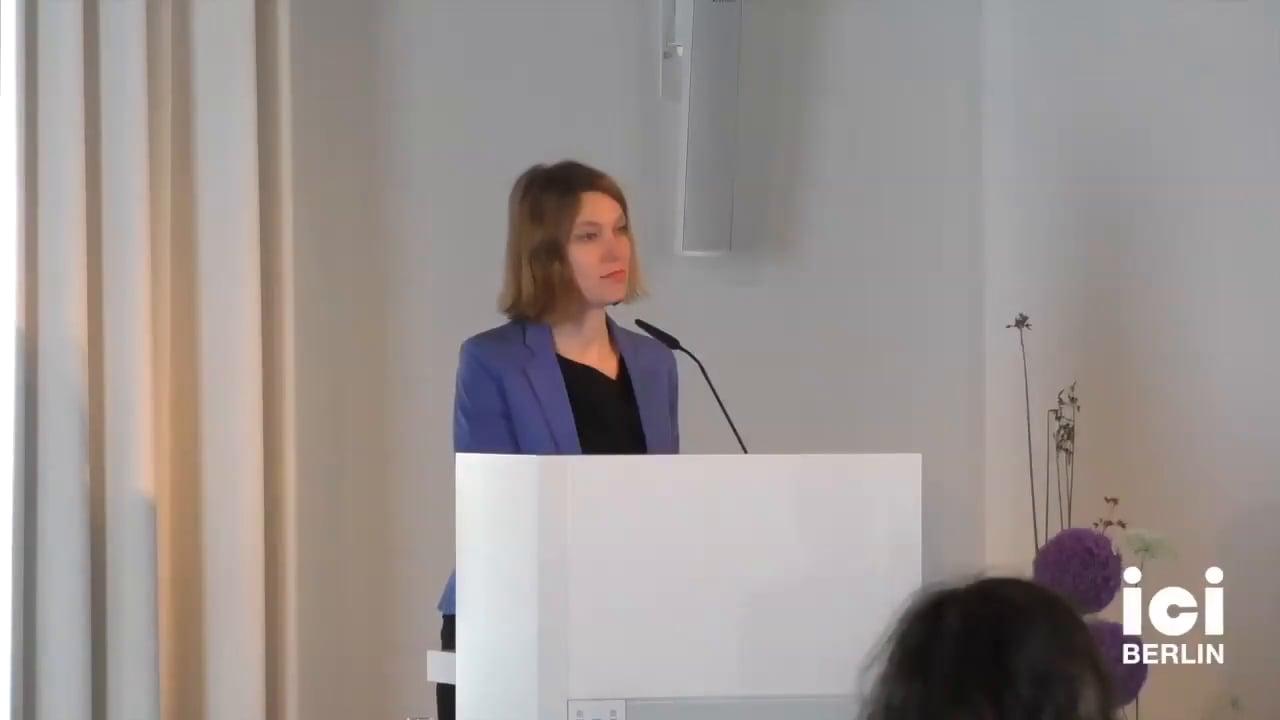 Introduction of Arnd Wedemeyer by Barbara Natalie Nagel [Part 4, 1]
