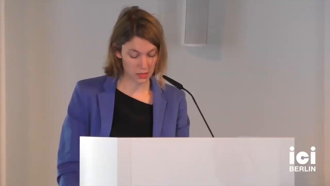 Talk by Barbara Natalie Nagel [Part 3, 5]