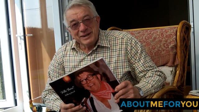 Tony receives his About Me For You book...
