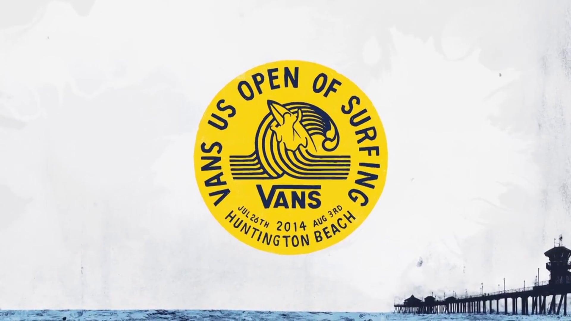 2014 Vans US Open of Surfing TV Show