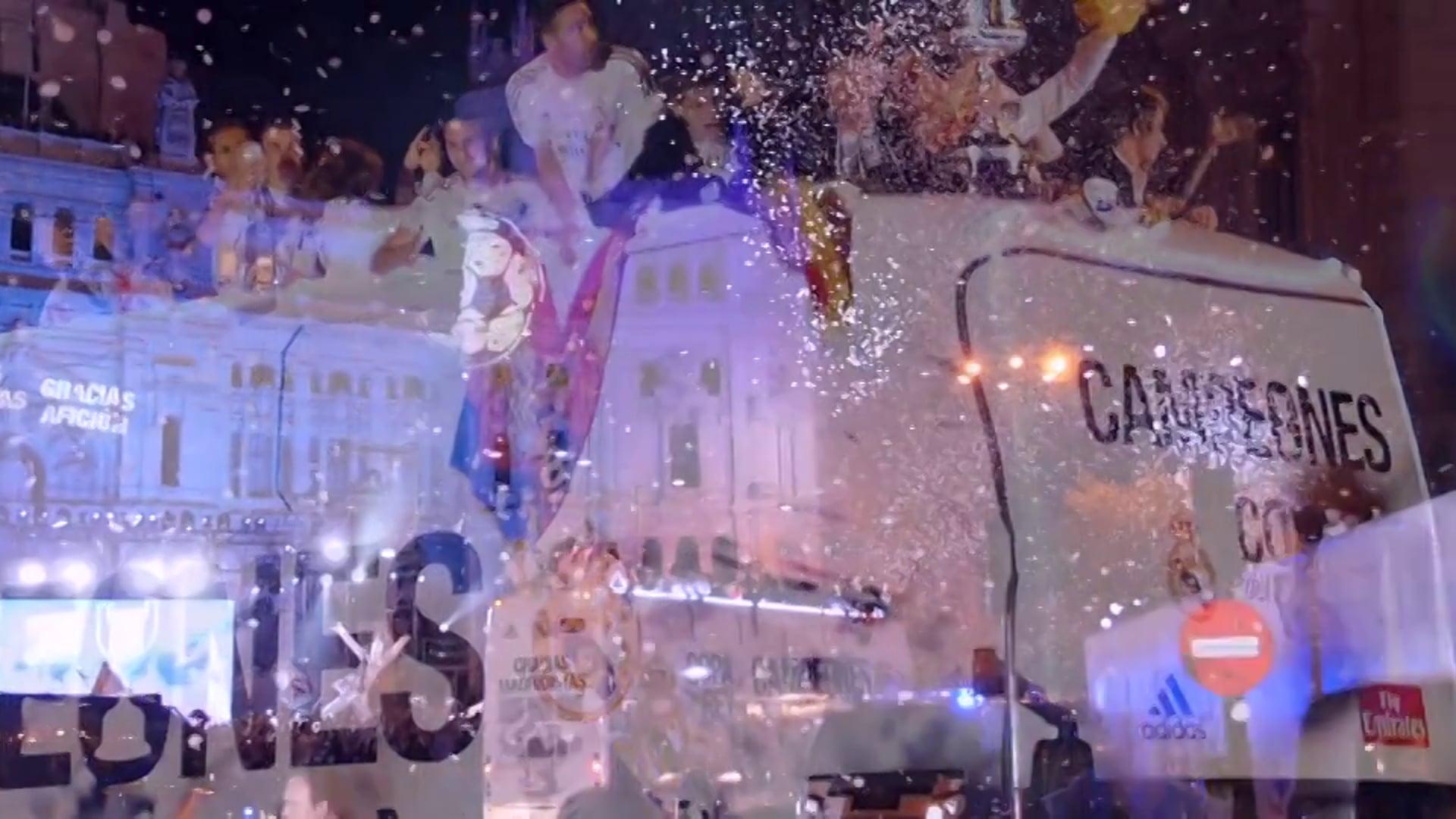 Celebracion Copa del Rey Real Madrid