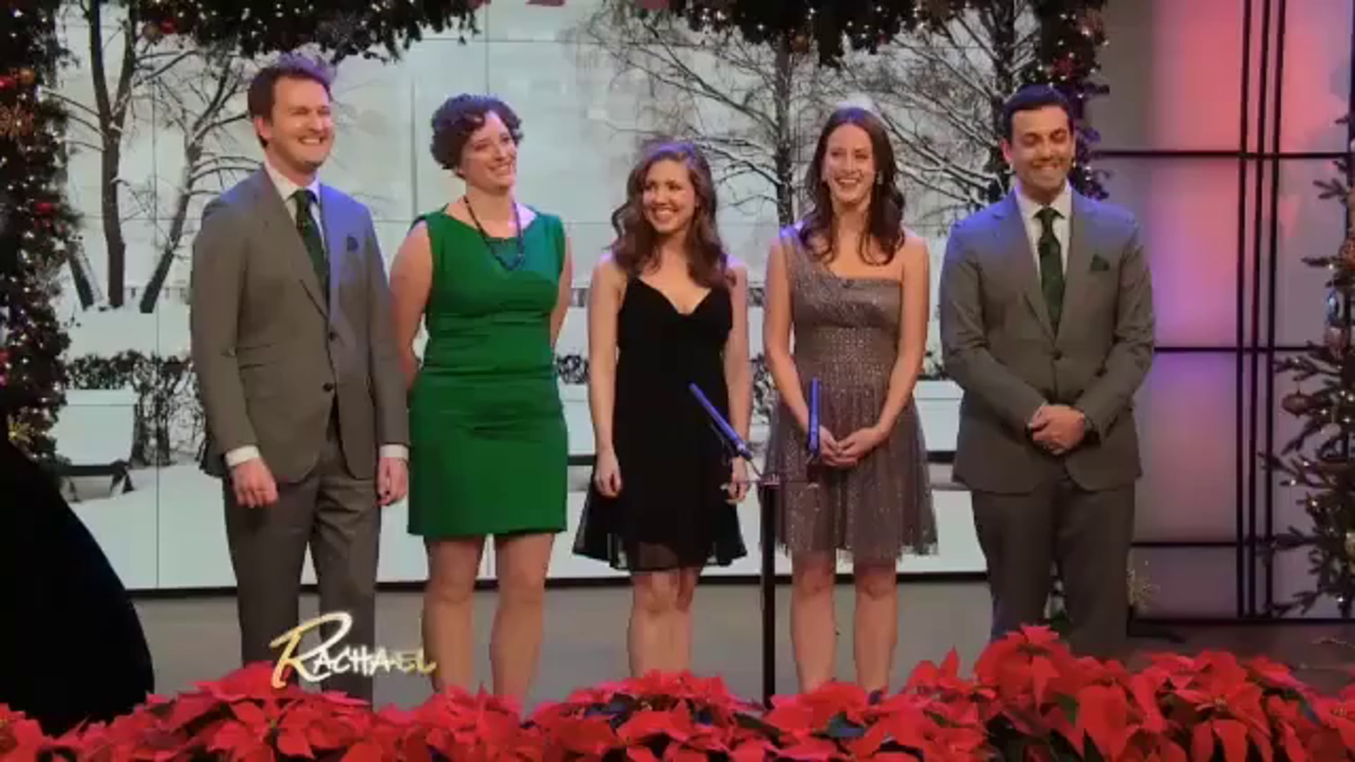 New York Holiday Singers on The Rachael Ray Show - 12/23/2012