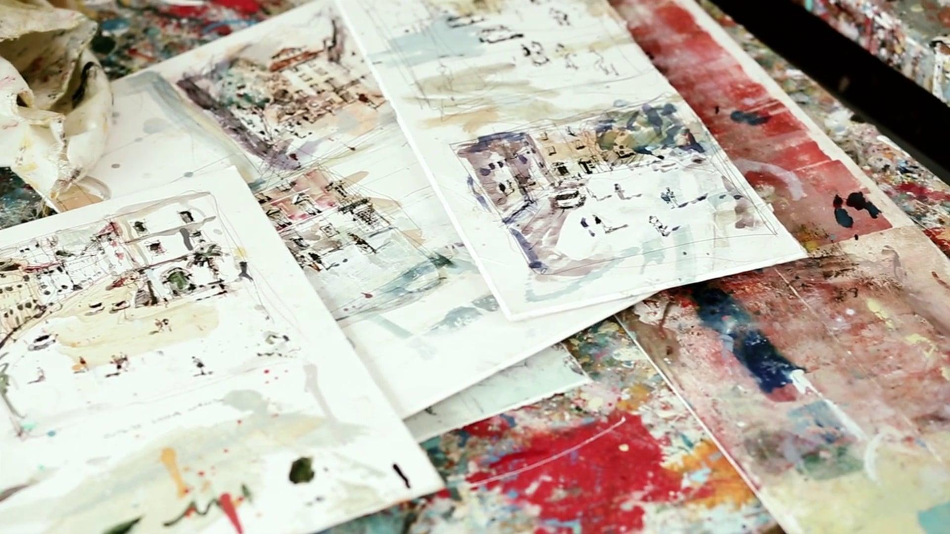 The Artist's Studio: ANDREW HOOD
