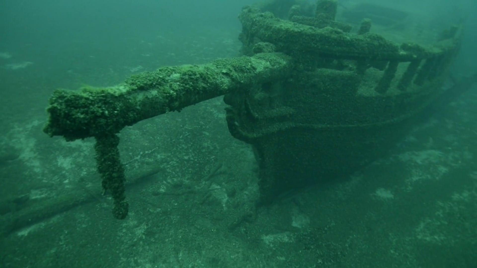 Diving the Northerner and Mahoning wrecks - Lake Michigan