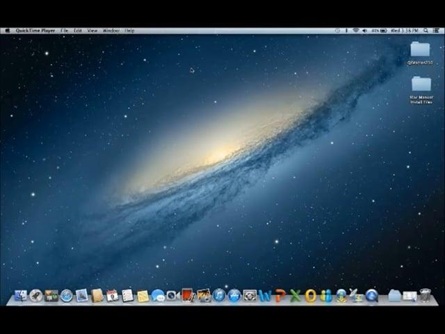 Installing QI Macros on a Mac