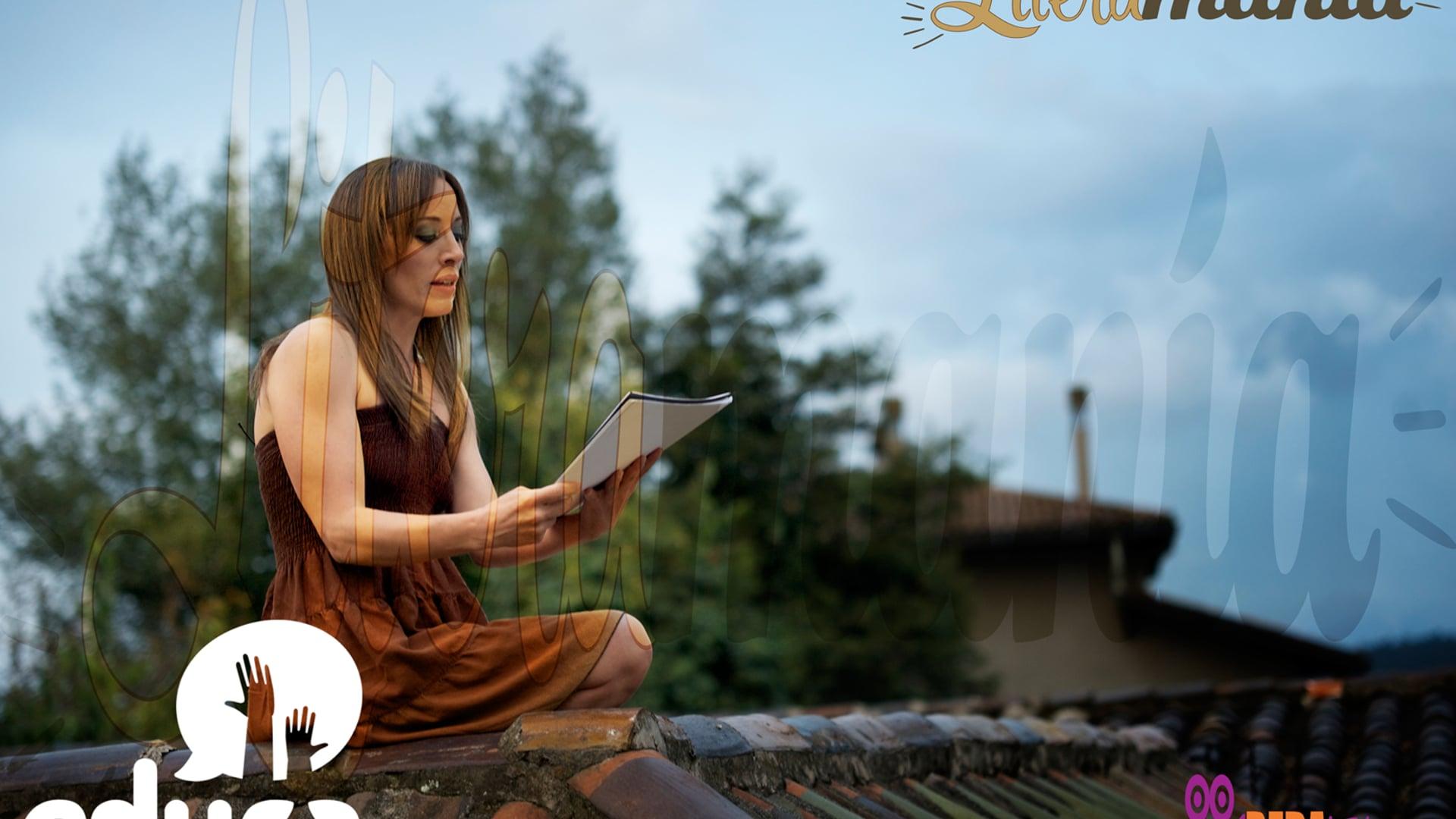 """LITERAMANÍA: Trailer del episodio 9- """"Marialuz Albuja"""""""