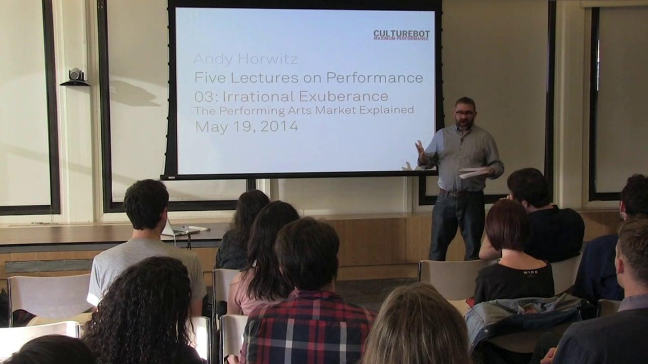 Irrational Exuberance: The Performing Arts Market Explained