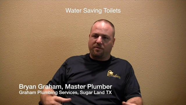 Water Saving Toilets - Plumbers Sugar Land Missouri City Stafford Houston