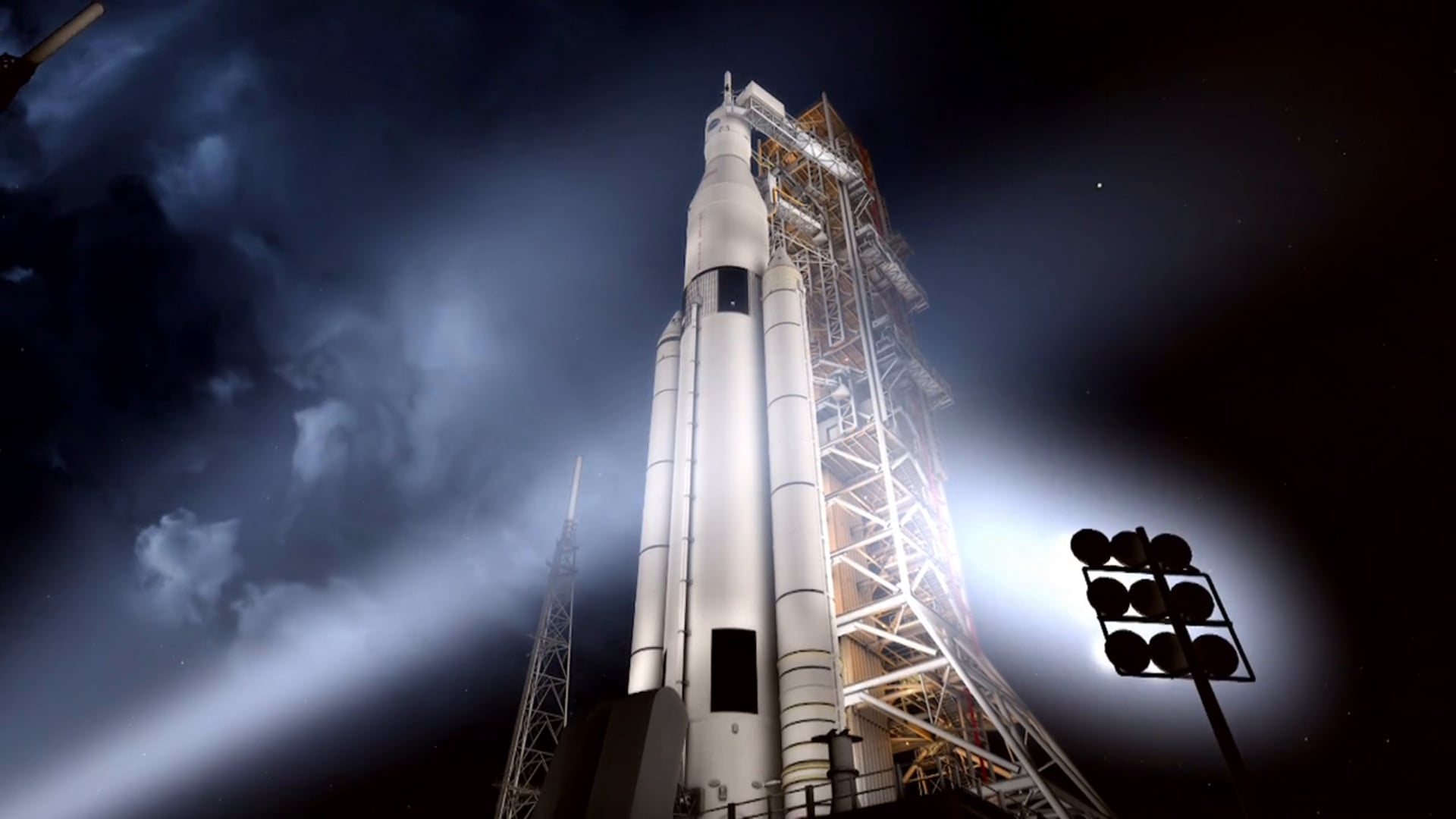NASA's Space Launch System - Launch Animation (September 2014)
