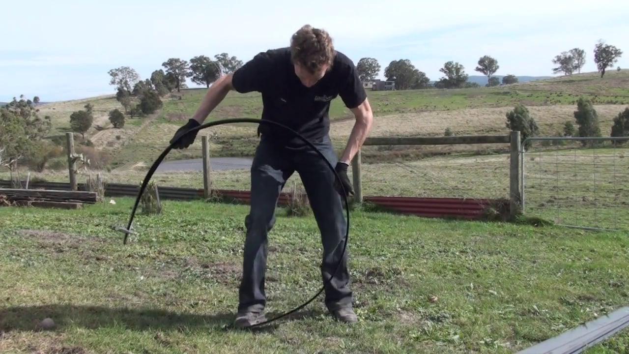 Metal Garden Edging forming strip video FormBoss™. Reduce your minimum curving diameter by 50%