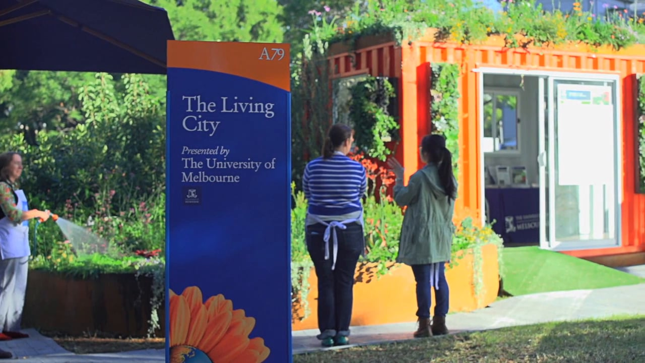 'The Living City' by Melbourne University MIFGS 2014