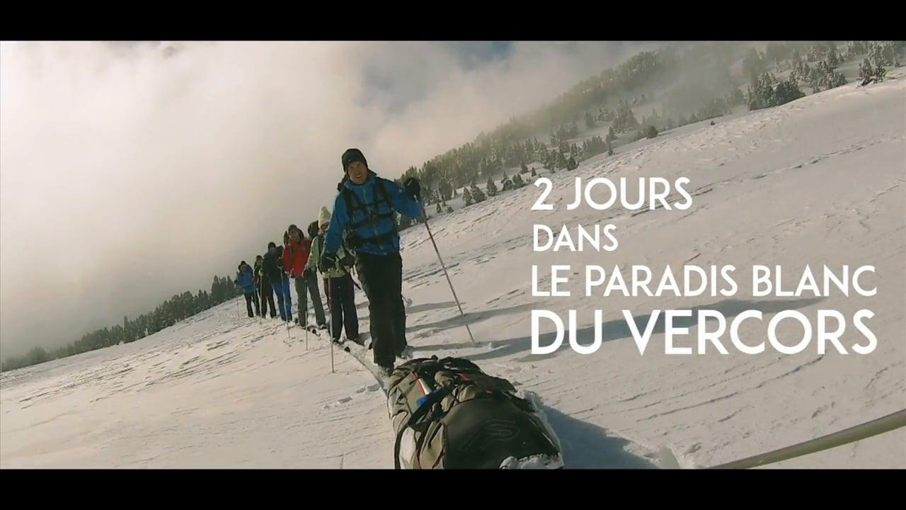 Ski de randonnée Nordique dans le Vercors / Nordic Skiing in Vercors, France