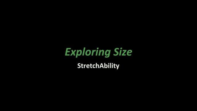 Exploring Size- Stretchability (NanoDays Training Video)