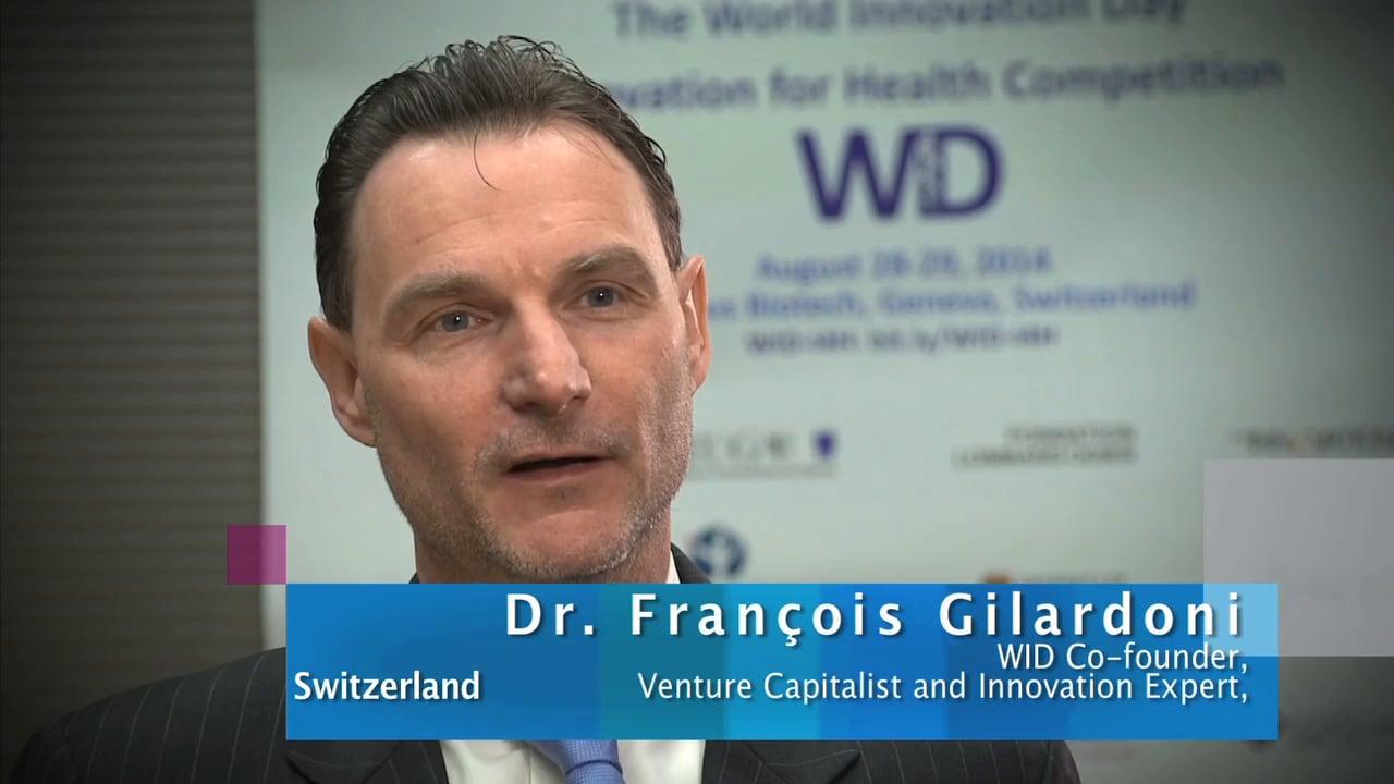 Dr. François Gilardoni, Entrepreneur, Venture Capitalist, WID Co-founder