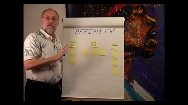 Draw an Affinity Diagram in Excel