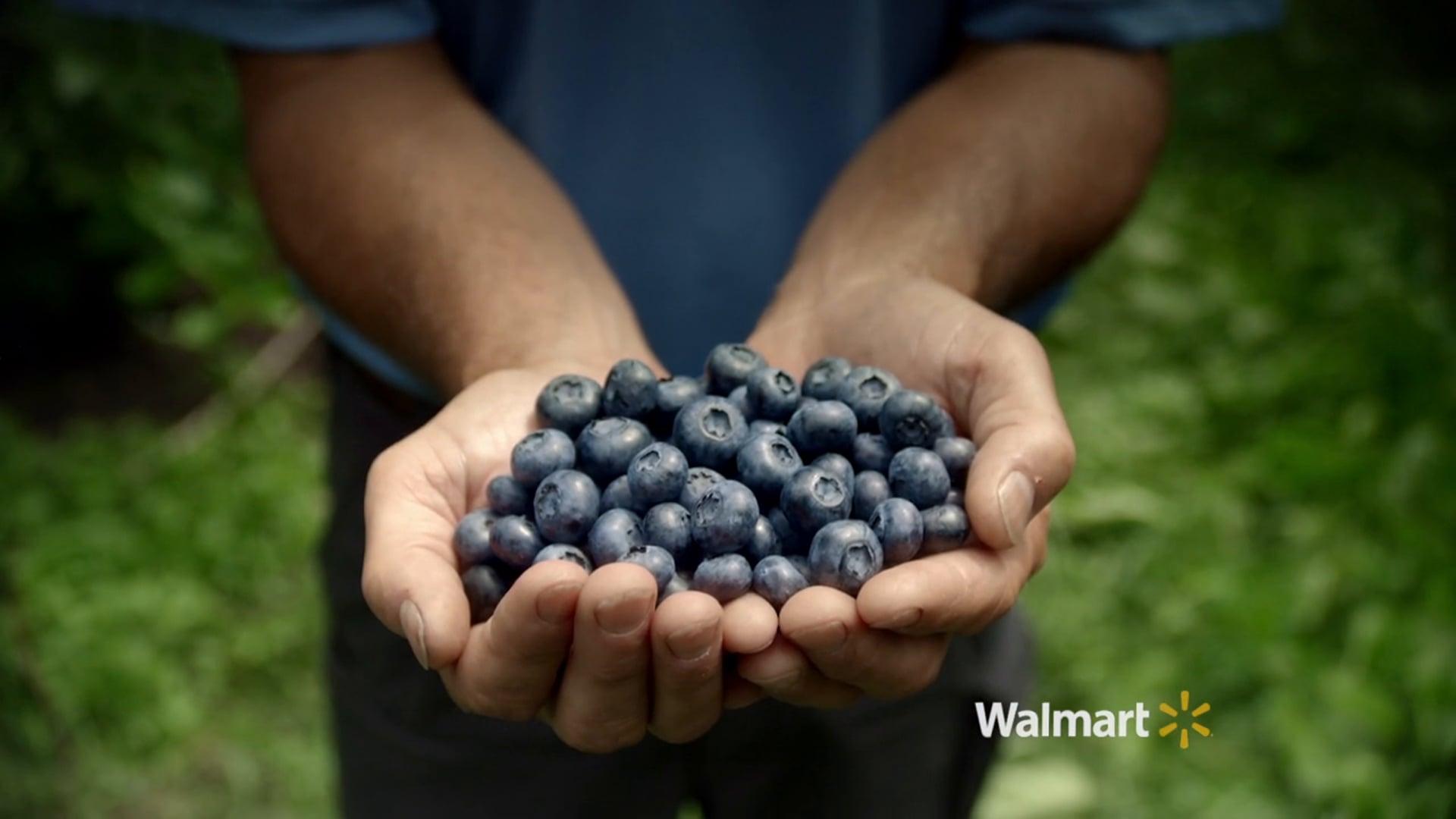 "Walmart ""Local Produce, Blueberries"""