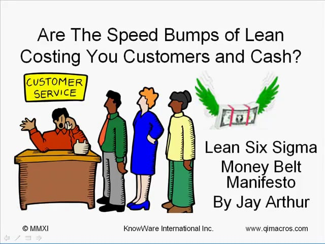 Speed Bumps of Lean