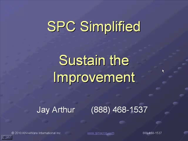 SPC Simplified Introduction