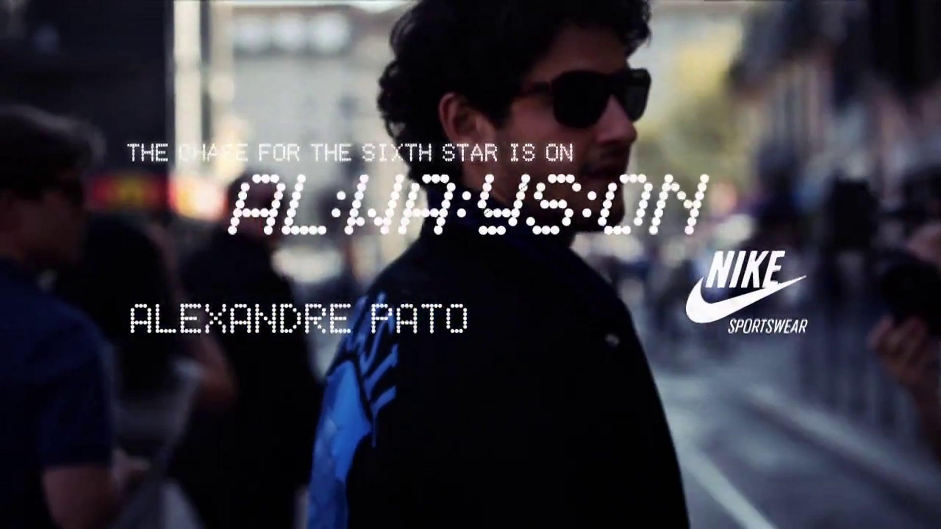 NIKE - Always On - Alexandre Pato