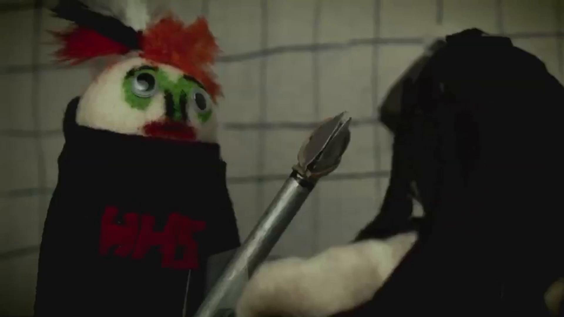 Varsity Blood - Finger Puppets