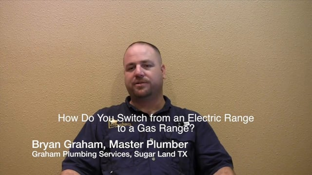 How Do You Switch from an Electric Range to a Gas Range - Sugar Land Katy Missouri City