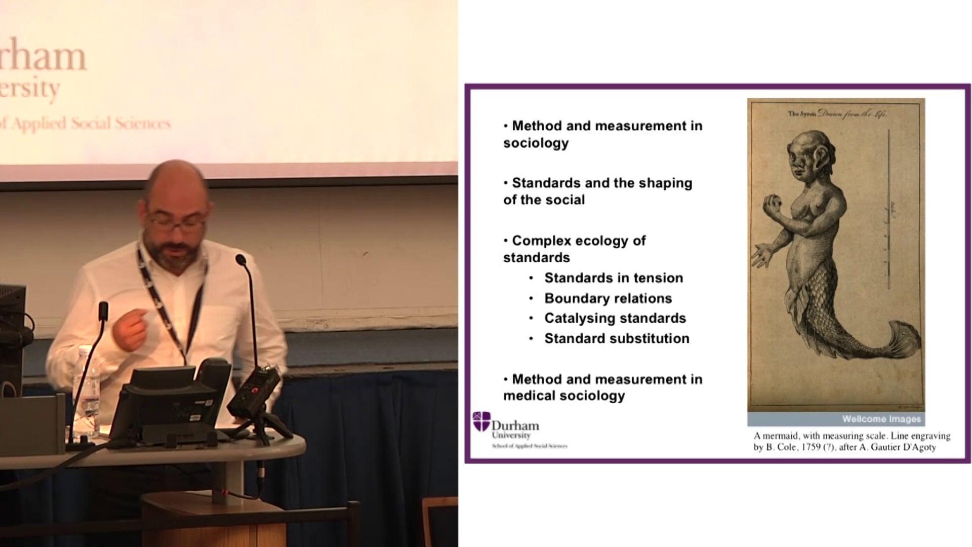 BSA Medical Sociology Annual Conference 2014 Opening Plenary: Professor Tiago Moreira