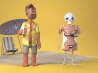Die Irrungen und Wirrungen eines Skeletts