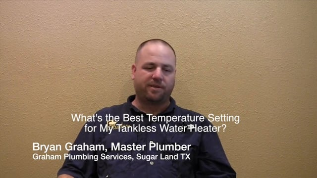 Tankless Water Heater Cutting Out? Graham Plumbing for Sugar Land Metro Houston