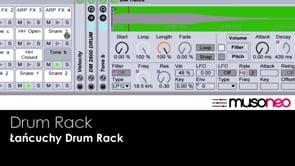 Łańcuchy drum rack